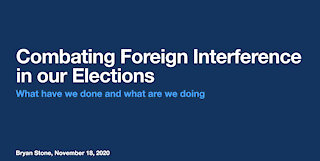 Combating Foreign Interference in US Elections
