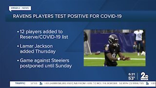 Ravens QB Lamar Jackson tests positive for COVID