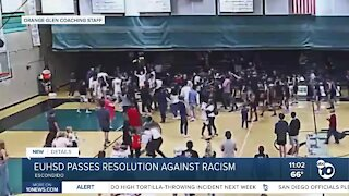 EUHSD passes resolution against racism