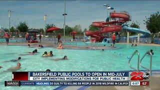 Public pools won't open in Bakersfield until mid-July