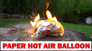 How To Make Paper Hot Air Balloon