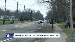 Cop arrested and charged with DWI