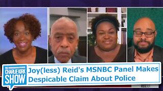 Joy(less) Reid's MSNBC Panel Makes Despicable Claim About Police