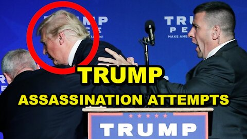 TRUMP ASSASSINATION ATTEMPTS - BEHIND THE SCENES HIDDEN ASSASSINATIONS - THE FAKE DEATHS