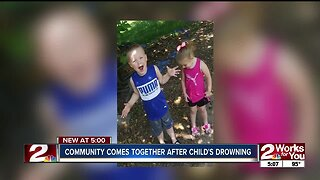 Community Comes Together After Child's Drowning