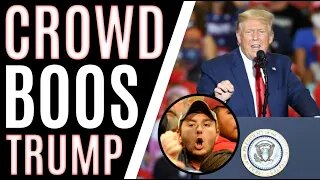 Rally-goers TURN On President Trump For THIS Reason At MAGA Rally
