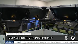 San Diego County reassures public about voting safety