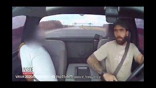 Driver Shoots Through Windshield on Freeway in 'Self-Defense' #Guns
