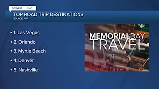 Memorial Day: Increased travel expected