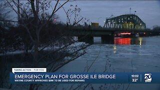 Wayne County approves $9M for repairs of Grosse Ile bridge