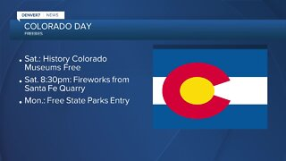 Freebies for Colorado Day