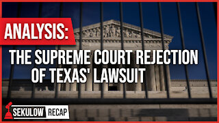 Analysis: The Supreme Court Rejection of Texas' Lawsuit
