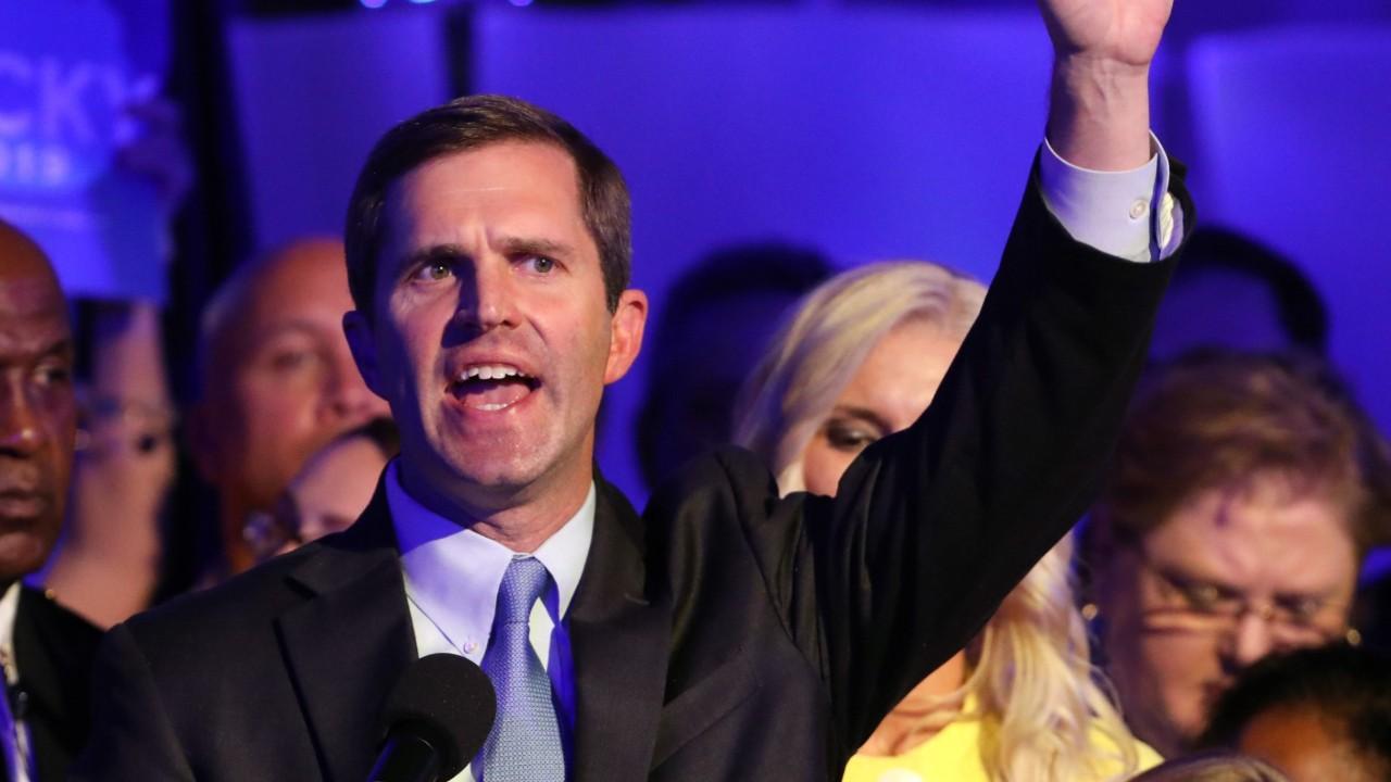 Democrats win Kentucky and seize Virginia state legislature