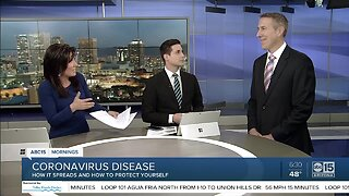 Health expert discusses coronavirus and how to protect yourself