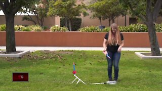 Science Sundays: How to make a stomp rocket