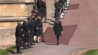 Prince Philip Funeral procession