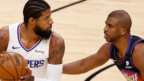 Paul George DISSES Chris Paul After Suns Win Over Clippers: Do They Have Beef?