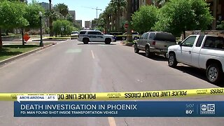 Death investigation underway in Phoenix
