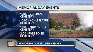 Memorial Day celebrations around the Treasure Valley