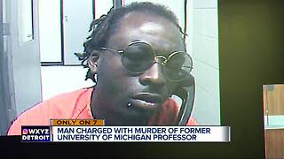 Man charged in murder of former University of Michigan professor