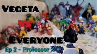 Vegeta Vs Everyone Ep 2 - Professor X