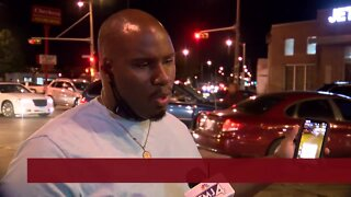 Pastor encourages protesters to go home