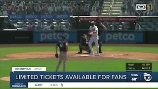 Padres fans and limited tickets
