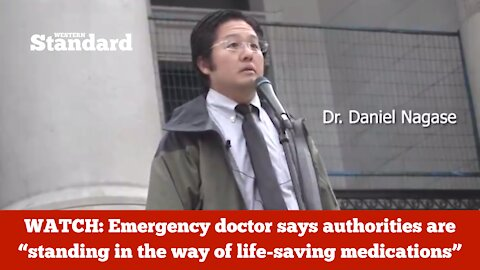 """Emergency doctor says authorities are """"standing in the way of life-saving medications"""""""