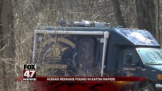 Human Remains discovered in wooded area in Eaton Rapids Twp., Eaton County