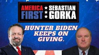 Hunter Biden keeps on giving. John Solomon with Sebastian Gorka on AMERICA First