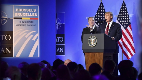 Trump Claims NATO Victory After 'Go It Alone' Ultimatum