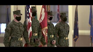 Deactivation Ceremony 8th Marine Regiment