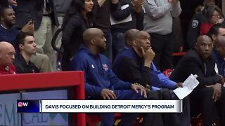 Mike Davis focused on building Detroit Mercy's program with talented, young group
