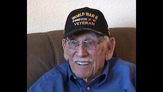 A war hero celebrates his 96th birthday