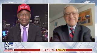 Dershowitz calls Chauvin juror an 'advocate' after attending George Floyd event
