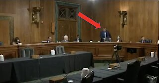 MIC DROP - Ted Cruz Dunks on Biden Nominees For Defunding Police, Walks Out of Room