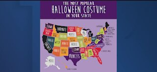 The most searched Halloween costumes by state