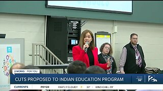 Cuts Proposed To Indian Education Program