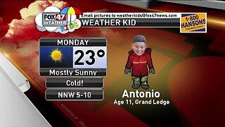Weather Kid - Antonio