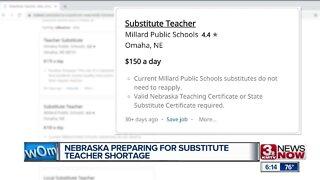 NE Preparing for Substitute Teacher Shortage