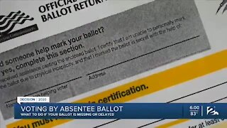 Voting by absentee ballot