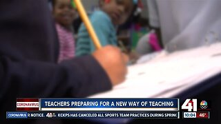 Teachers prepare for a new way of teaching