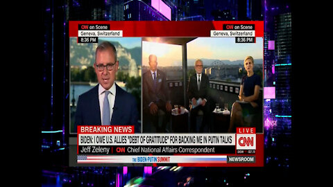 CNN Reporter Says He Has Never Seen A President Protected More Than Biden