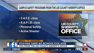 Keeping your kids safe on campus