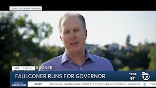 Former San Diego mayor Kevin Faulconer announces run for Governor