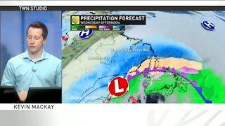 Weakening storm moves through Newfoundland