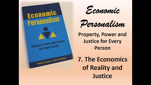 Resistance Podcast #185: Economic Personalism: The Economics of Reality and Justice