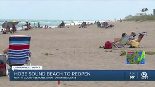 Martin County beaches opening to all residents