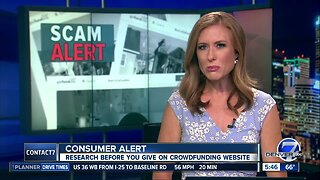 BBB warns about crowdfunding pleas