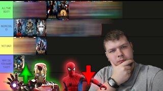 Ranking EVERY Marvel Movie - The Best Marvel Movie IS??